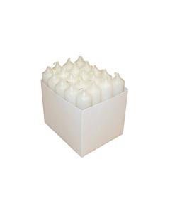 Majapidamisküünlad karbis 21x102 / 4h / 20tk / valge /LM