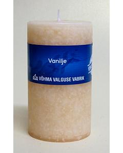 Lõhnaküünal 40x50 / 11h / silinder / Vanilje