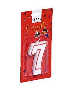 """Sünnipäevaküünal """"7"""" / ca 12min"""